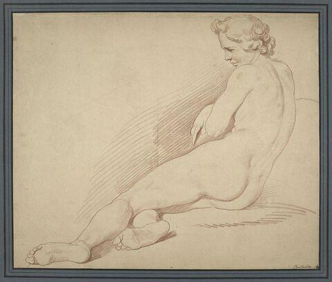 Etude de nu pour la Marne