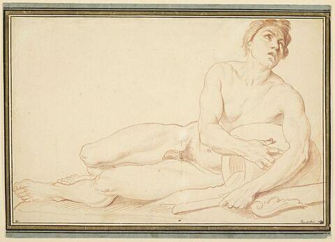 Étude de nu pour la Seine