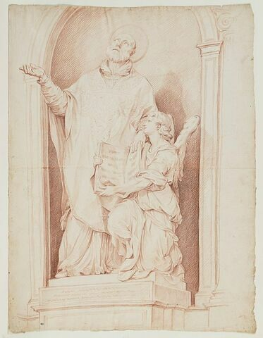 Saint Philippe Neri avec l'ange