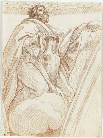 Melchisédech offrant le pain et le vin