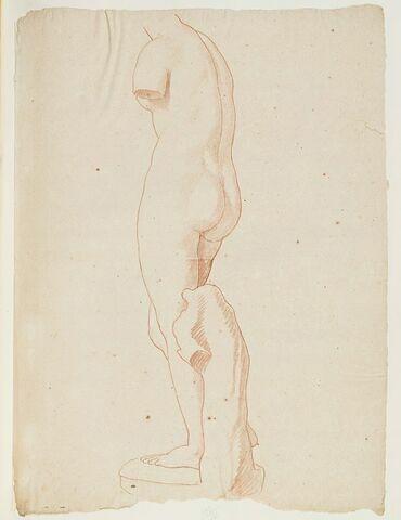 La Vénus Médicis, vue de trois quarts gauche