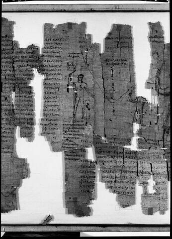 détail ; face, recto, avers, avant © 1971 Musée du Louvre / Maurice et Pierre Chuzeville