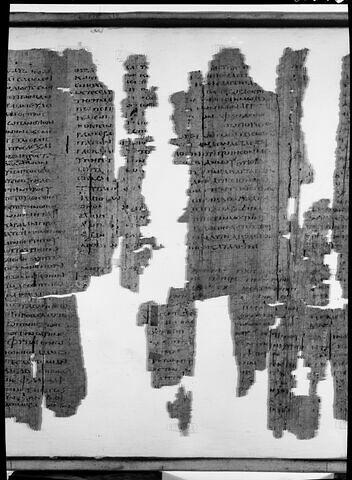 détail ; dos, verso, revers, arrière © 1971 Musée du Louvre / Maurice et Pierre Chuzeville
