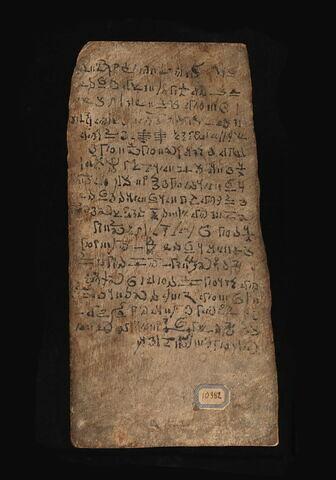 tablette de scribe ; instrument de culte
