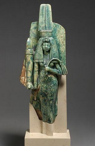 statue de couple  ; Statue de Tiy et Amenhotep III