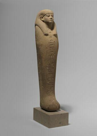 trois quarts droit ; face, recto, avers, avant © 2013 Musée du Louvre / Christian Décamps