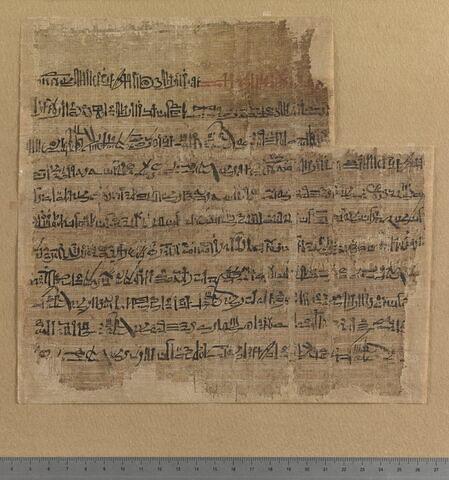 papyrus ; Poème de Pentaour