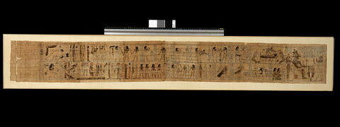 papyrus ; papyrus mythologique ; papyrus mythologique de Serimen