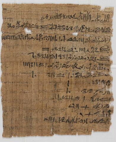 papyrus ; papyrus Mallet 1