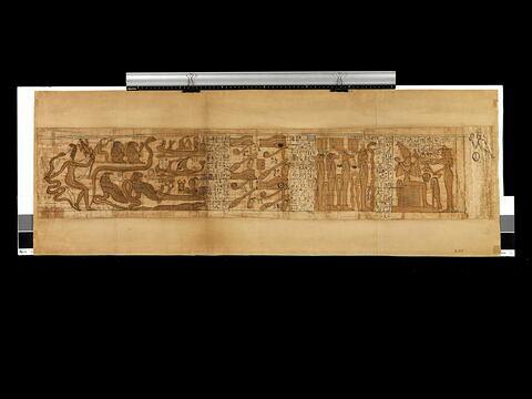 papyrus ; papyrus mythologique de Baoumouternakhtou