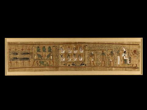 papyrus ; papyrus mythologique de Bakenmout
