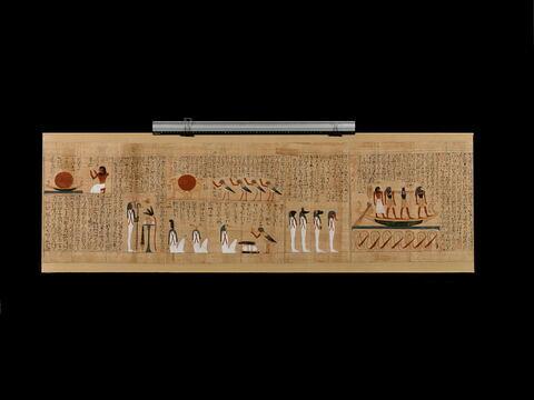 papyrus ; papyrus mythologique d'Imenemsaouf