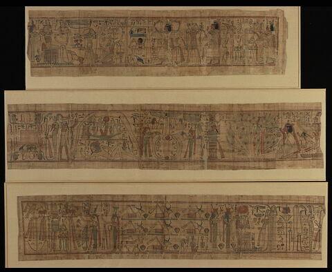 papyrus ; papyrus mythologique de Nespakachouty