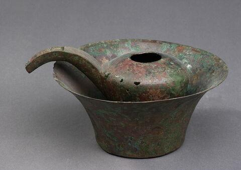 bassin ; vase miniature
