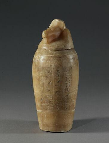 vase canope ; avec contenu