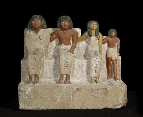 statue de groupe familial ; Groupe de Betchou