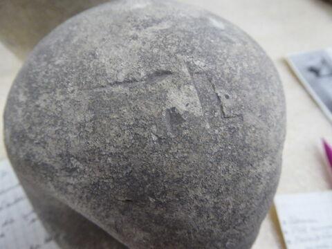 détail ; vue de dessus © Musée du Louvre / Antiquités égyptiennes