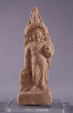figurine d'Harpocrate au pot