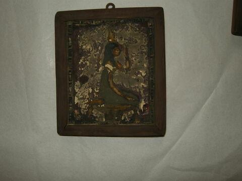 plaquette ; garniture de momie ; enveloppe de momie en cartonnage  ; sarcophage
