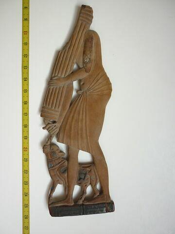 vue d'ensemble ; face A, face 1 © 2010 Musée du Louvre / Antiquités égyptiennes