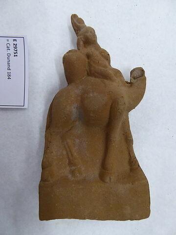 figurine d'Harpocrate au pot ; figurine d'Harpocrate au dromadaire