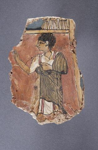 plastron de momie  ; enveloppe de momie en cartonnage