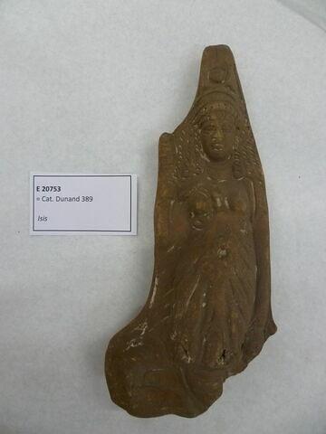 figurine d'Isis serpent