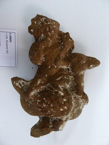 figurine d'Harpocrate à l'oie ; figurine d'Harpocrate à la corne d'abondance