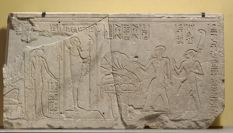 relief mural ; linteau