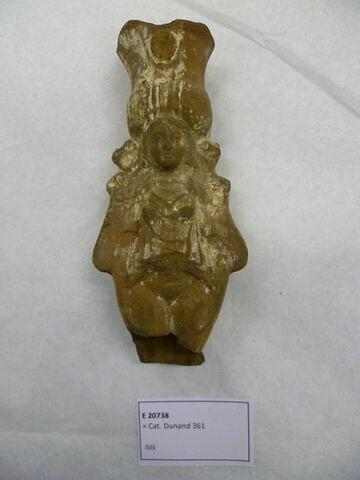 figurine d'Isis impudique ; figurine d'Isis Aphrodite