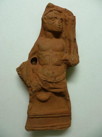 figurine d'Harpocrate portant son image