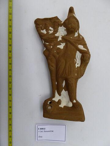 figurine d'Eros à la torche ; lampe