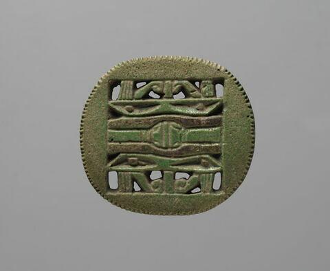 amulette oudjat quadruple circonscrit  ; amulette