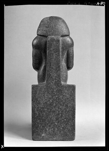 vue d'ensemble ; dos, verso, revers, arrière © Musée du Louvre / Maurice et Pierre Chuzeville