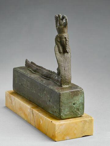 figurine ; sarcophage de serpent