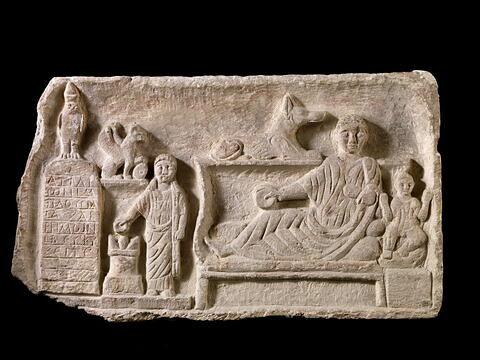stèle ; stèle de type Kom Abou Billo