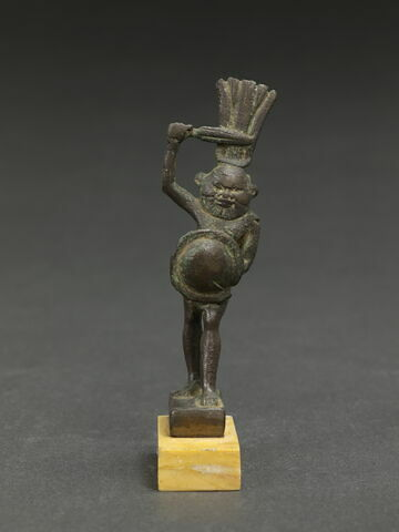 figurine de Bès guerrier