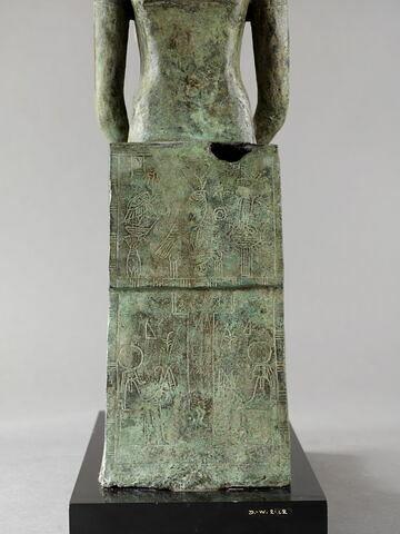 dos, verso, revers, arrière ; détail inscription © 2014 Musée du Louvre / Georges Poncet