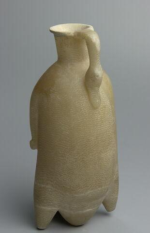 gourde ; vase plastique
