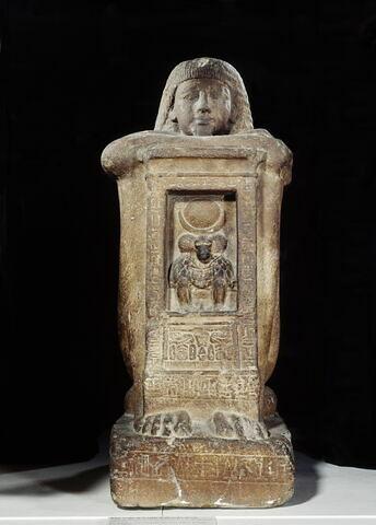 vue d'ensemble ; face, recto, avers, avant © 2001 Musée du Louvre / Georges Poncet