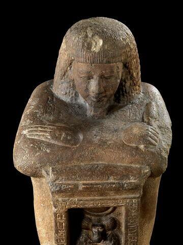 détail ; vue plongeante ; face, recto, avers, avant © 2008 Musée du Louvre / Georges Poncet