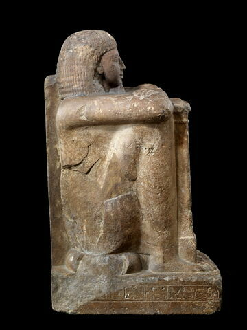 vue d'ensemble ; profil droit © 2008 Musée du Louvre / Georges Poncet