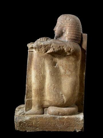vue d'ensemble ; profil gauche © 2008 Musée du Louvre / Georges Poncet