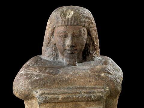détail ; face, recto, avers, avant ; partie supérieure © 2008 Musée du Louvre / Georges Poncet