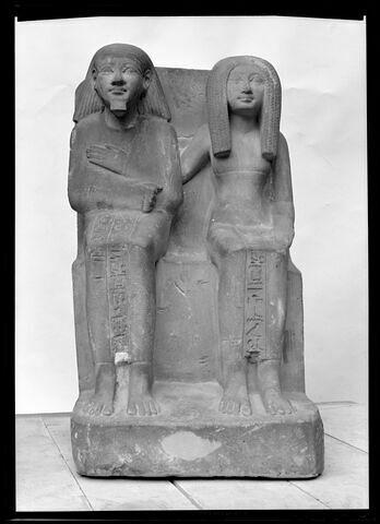 vue d'ensemble ; face, recto, avers, avant © 1972 Musée du Louvre / Maurice et Pierre Chuzeville