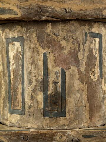 détail inscription ; vue de dessus © 2011 Musée du Louvre / Georges Poncet