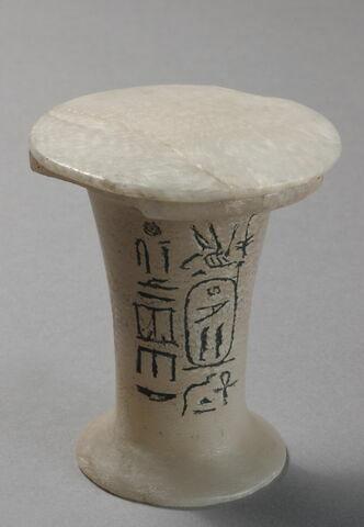 vase à onguent ; couvercle de vase