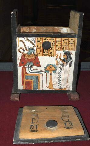 vue d'ensemble ; ouvert © 2014 Musée du Louvre / Antiquités égyptiennes