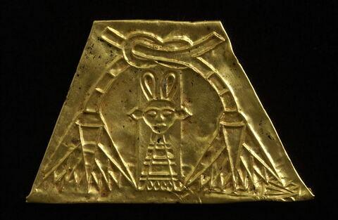 plaquette ; amulette