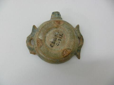 dessous ; détail marquage / immatriculation © Musée du Louvre / Antiquités égyptiennes